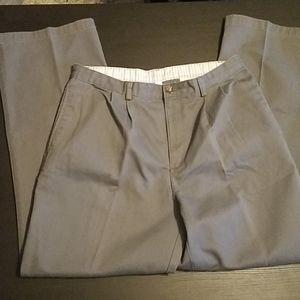 Arrow Boys Gray Chino Pants - Husky